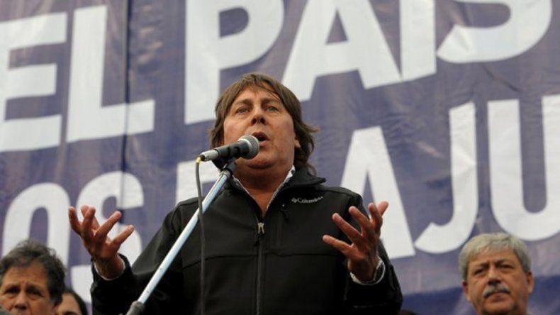 Pablo Micheli anunció una semana de protestas y paro nacional.