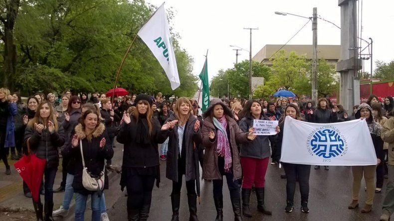El paro nacional de mujeres se sintió en todo el país