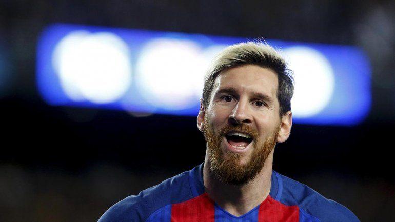 Messi clavó 3 contra el Manchester City de Guardiola