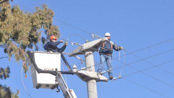 calf: corte de luz de emergencia en el parque industrial oeste
