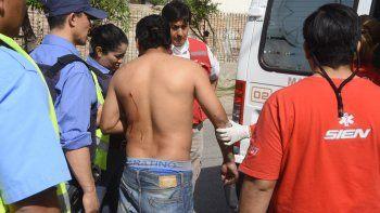 Pelea de vecinos contra ladrones dejó tres heridos
