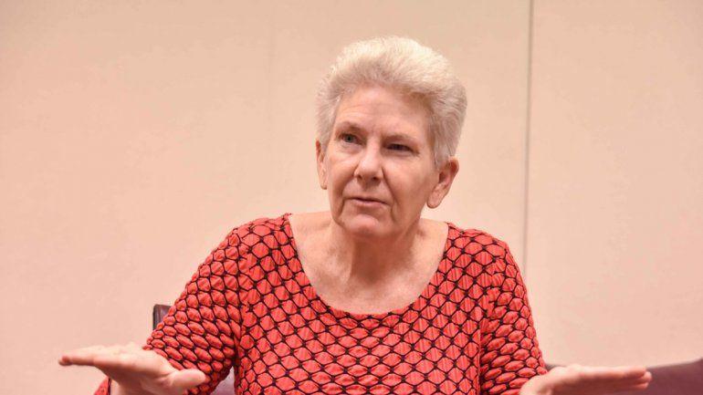 Colleen Boland pasó por Neuquén hace unos días. La activista ambiental estadounidense participó en las recientes actividades en las que se debatió acerca del impacto del fracking en la vida de la gente que vive en proximidades de las locaciones donde se u