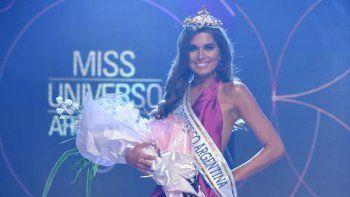 Una bailarina de Tinelli se coronó Miss Universo Argentina