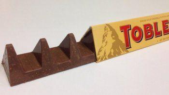 Indignación mundial por el nuevo diseño de los chocolates Toblerone