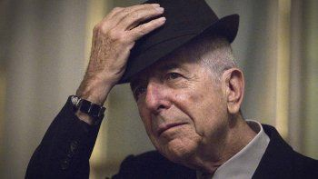 Música de luto: murió el enigmático Leonard Cohen
