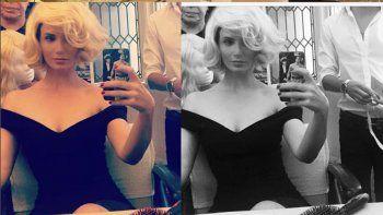 La ex de Suar posteó fotos en las que se la ve idéntica a Susana.