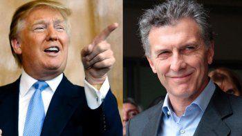 Trump y Macri hablarán por teléfono esta tarde