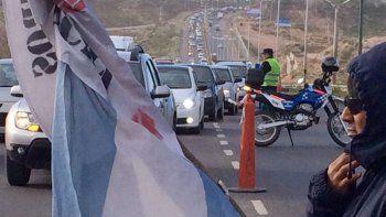 El tránsito sobre Ruta 7, tras el reclamo de empleados de Molarsa.