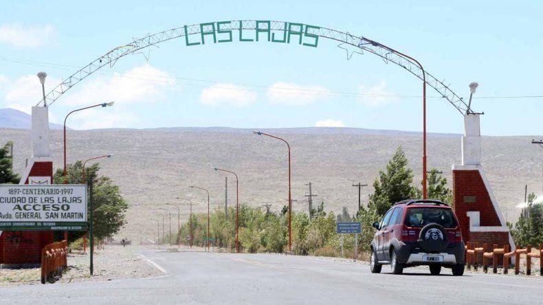 El contacto cero de Las Lajas es un comerciante de Neuquén