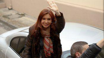 Cristina Kirchner.