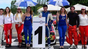 El piloto roquense sólo tenía que sumar un punto para ser campeón de la temporada 2016.