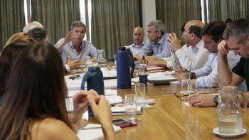 Guillermo Monzani, secretario de Obras Públicas, respondió preguntas de los concejales relacionadas con el presupuesto para el 2017.