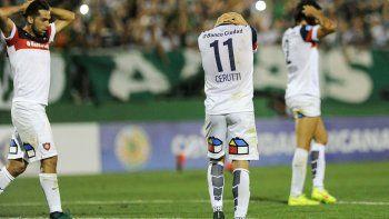 san lorenzo no pudo ganar y se despidio de la copa sudamericana