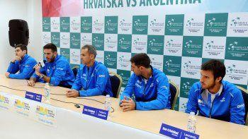 El equipo está. Argentina, lista para dar batalla en Zagreb. Un fin de semana que puede ser histórico.