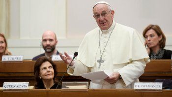 El sumo pontífice alertó que hay consumo y algo de producción.
