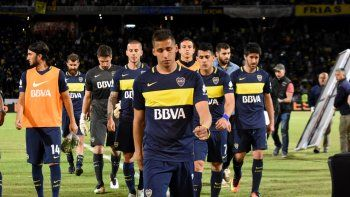 Boca, sin Copas en todo el 2017.