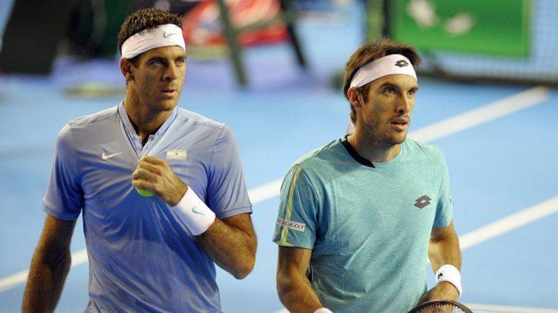 Delpo y Mayer ganaron y se verán las caras en Indian Wells