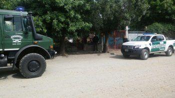 narcotrafico: cinco personas fueron detenidas por gendarmeria