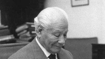 Humildad y dedicación. Gregorio Álvarez fue un gran ejemplo por toda su dedicación en favor de las ciencias.