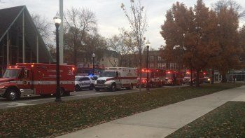 un tiroteo en un campus universitario dejo nueve heridos