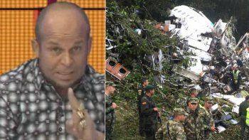 un vidente brasilero predijo la tragedia del chapecoense