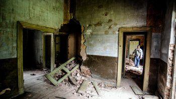Reclaman más fondos para la reconstrucción del histórico edificio.