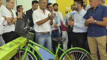 El intendente Horacio Quiroga quiere apostar al uso de las bicicletas.