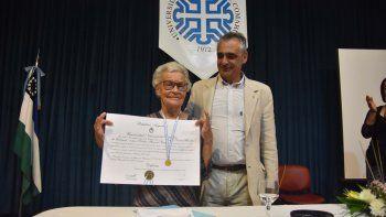 Labrune agradeció el reconocimiento a su labor por los derechos humanos.