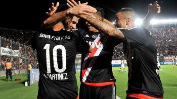 river vencio 2 a 0 a gimnasia y va por la copa argentina