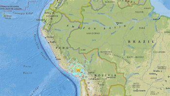 al menos cuatro sismos sacudieron argentina, chile y peru