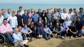 macri y sus ministros finalizan su retiro espiritual