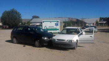 junin de los andes: una mujer resulto con heridas graves tras un fuerte choque