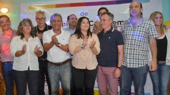 En el Club Unión de Zapala. Quiroga oficializó la mesa coordinadora de Cambiemos en la zona centro.