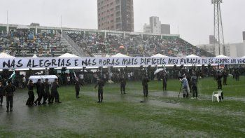 Brasil les dijo adiós entre lágrimas a los campeones, que serán recordados por siempre.