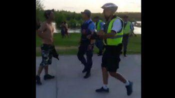 tiros, gritos y corridas: asi fue el feroz enfrentamiento en el balneario rio grande