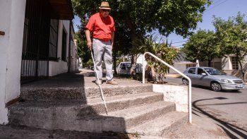 Hay veredas que son un peligro para todo el mundo, no sólo para ciegos o personas con movilidad reducida.