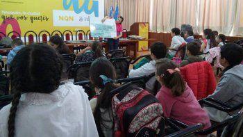El Municipio realizó una visita guiada para escuelas de la región.