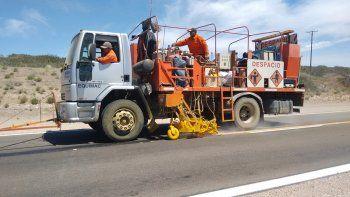 vialidad nacional termino la repavimentacion de la ruta 237