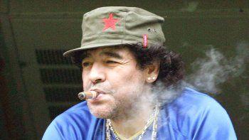 Para el Diez, es preciada la gorra que le regaló Fidel Castro.