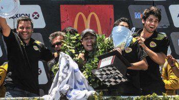 Antonino se dio el gusto de festejar el primer título a nivel nacional en una de las categorías más competitivas.