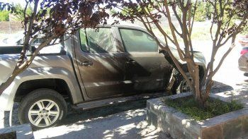 le quemaron la camioneta a un hijo de guillermo pereyra