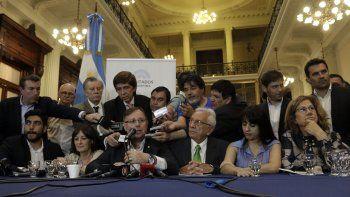la oposicion acordo un proyecto unico para reformar el impuesto a las ganancias