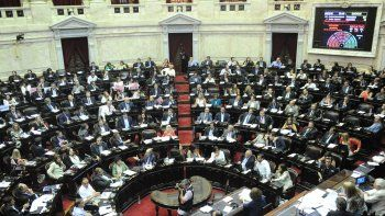 diputados aprobo el proyecto de la oposicion