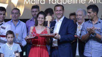 maira arias fue elegida como la mejor deportista neuquina del ano