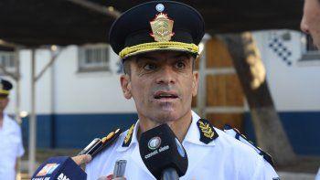 Rubén Tissier asumió la conducción formal de la policía neuquina.