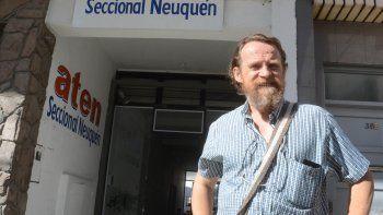 Marcelo Guagliardo, secretario general de ATEN.
