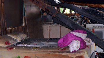 incendio en inquilinato dejo a siete familias en la calle