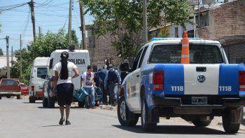 Allanamiento en el barrio San Lorenzo.