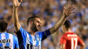 López y Blandi, los goleadores de la Acadé y el Azulgrana, que hoy necesitan ganar sus partidos.