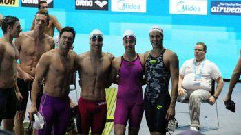 El nadador de Alta Barda, Agustín Hernández, quiere un gran cierre.